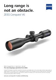 Zeiss Conquest V6 5-30x50 Ret 6.